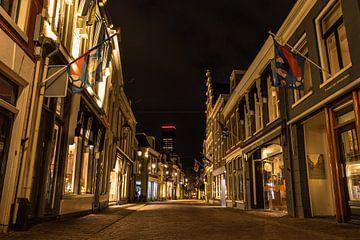 Verlaten Kleine Kerkstraat, Leeuwarden van Chiel Hoekstra