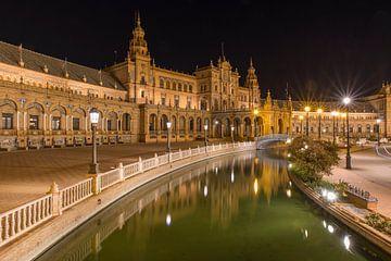 Plaza de Espana - Sevilla van Jack Koning
