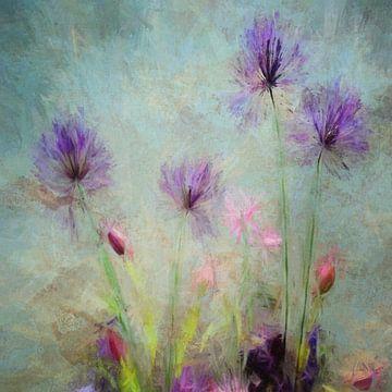 Wilde bloemen van Angel Estevez