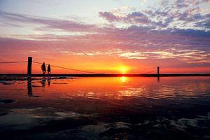 sunset beach Domburg