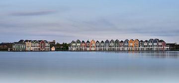Hölzerne Häuser von Mark Kroontje