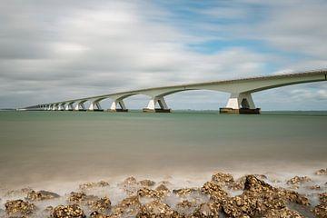 Le pont de Zélande, le point de mire de l'Oosterschelde sur Gerry van Roosmalen