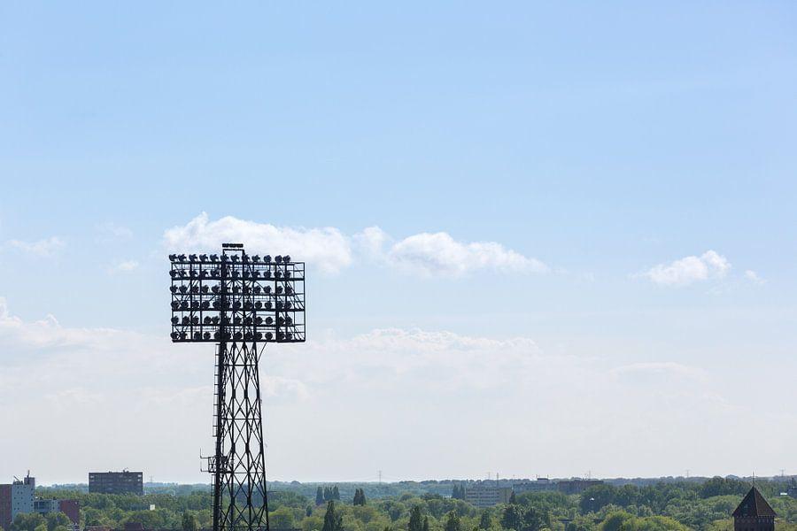 Stadion Feyenoord / De Kuip Lichtmast II van Prachtig Rotterdam