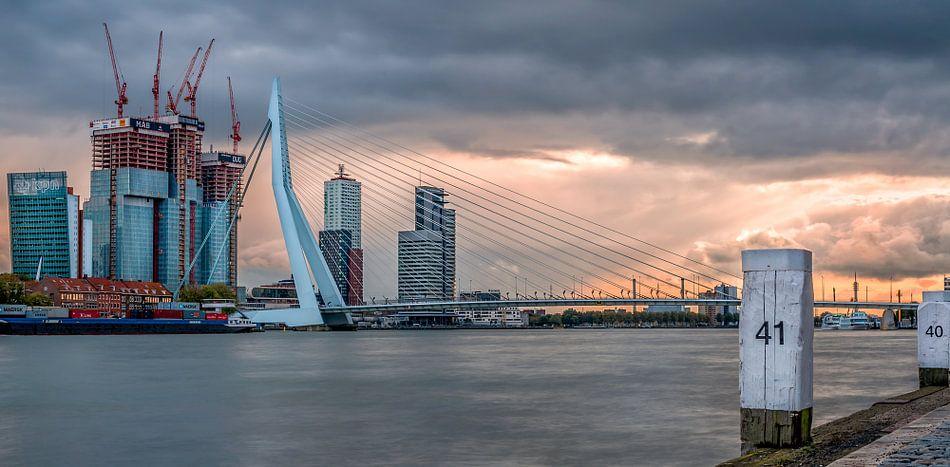 Rotterdam skyline van Lorena Cirstea