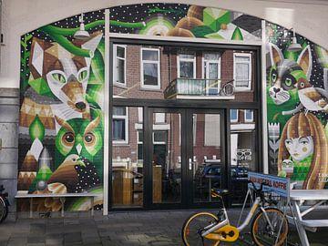 Street art Hofbogen van Sarith Havenaar