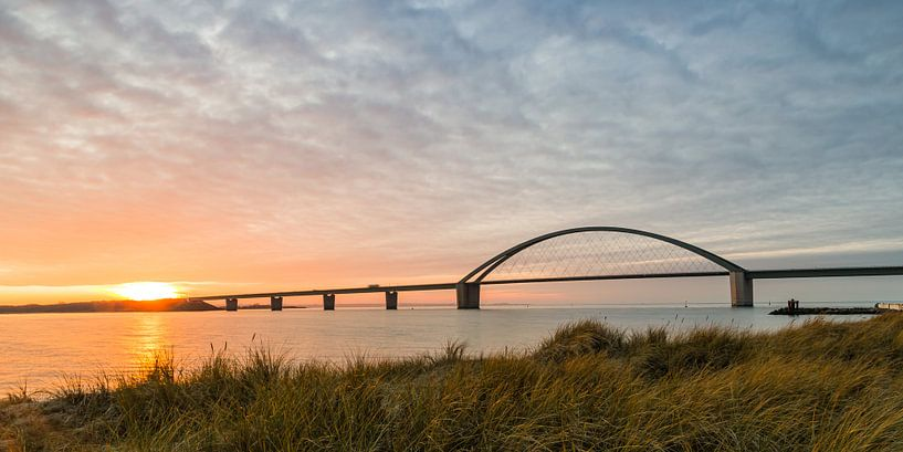 Fehmarnsundbrücke von Ursula Reins