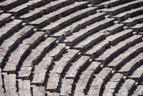 Amfitheater trappen van Roy Koelewijn