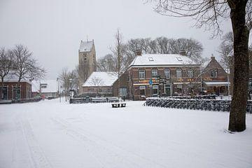 Nes in de sneeuw van Nicole Nagtegaal