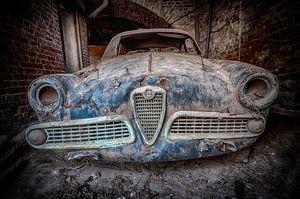Vervallen Alfa Romeo auto