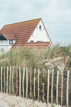Huis in Zoutelande van Patrycja Polechonska
