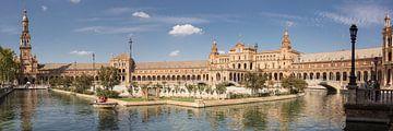 Panorama Plaza de España - Sevilla von René Weijers