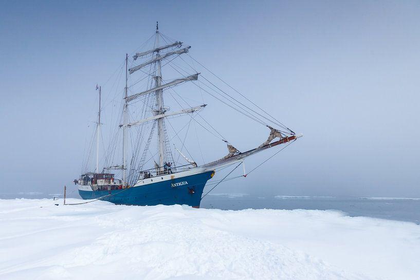 Tall Ship Barquentine Antigua i van Menno Schaefer