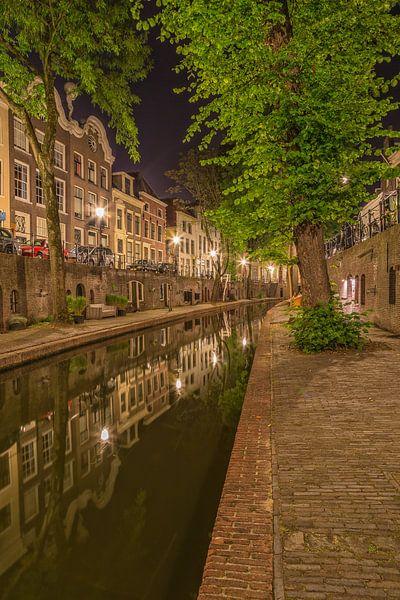 Nieuwegracht in Utrecht in de avond - 7 van Tux Photography