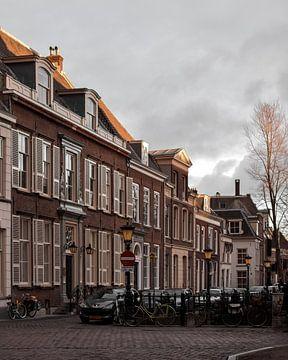 Zonsondergang in Utrecht von Kim de Been