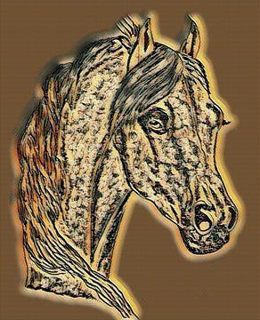 Pferd von Jose Lok