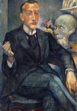 Bildnis Dr. Malte Wagner, ANITA RÉE, 1920 von Atelier Liesjes