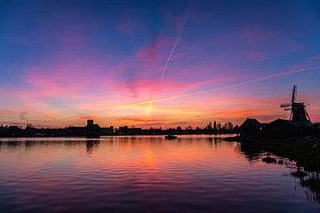 Die blaue Stunde auf der Zaanse-Rampe von Mike Bot PhotographS
