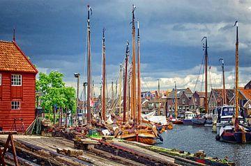 Haven van Spakenburg van Watze D. de Haan