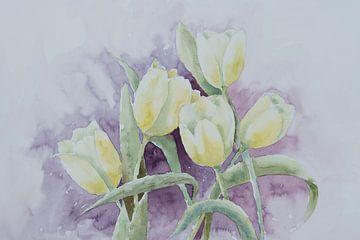 Limoncello tulpen van Monique Londema