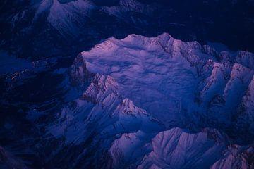 Magische ochtend over de Zugspitze van Denis Feiner