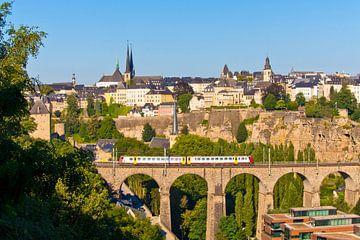 Luxemburg Stadt von Werner Dieterich