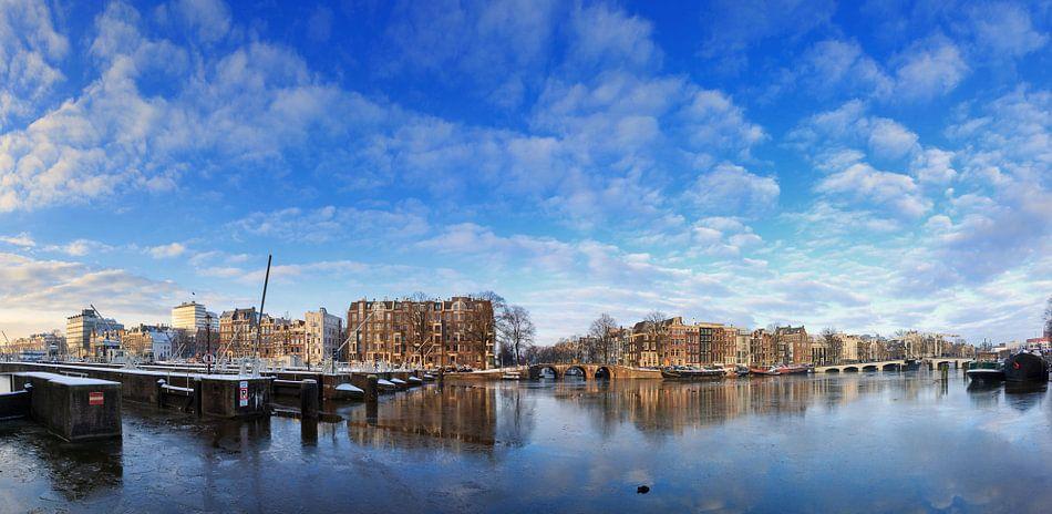 Amstelsluizen panorama van Dennis van de Water