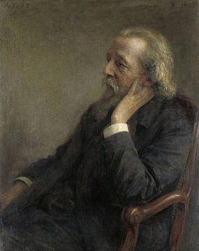 Portrait du Dr Hermannus Hugenholtz, fondateur de la Congrégation libre, Jan Veth. sur