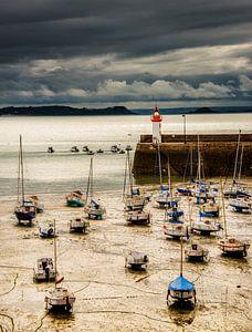 Bretagne,Erquy, haven