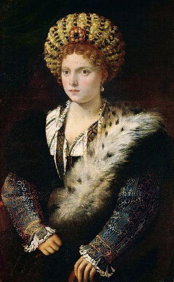 Portret van Isabel D'este van Marieke de Koning