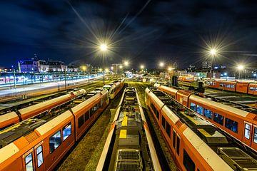 Nachtelijk rangeerterrein Groningen van Sterkenburg Media