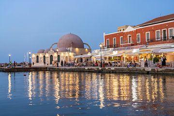 Chania, Kreta, Griekenland van Peter Schickert