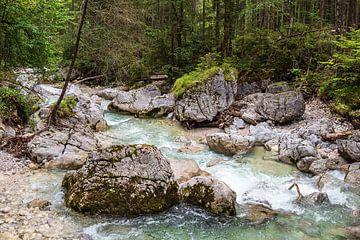 Ramsauer Ache im Zauberwald im Berchtesgadener Land von Rico Ködder
