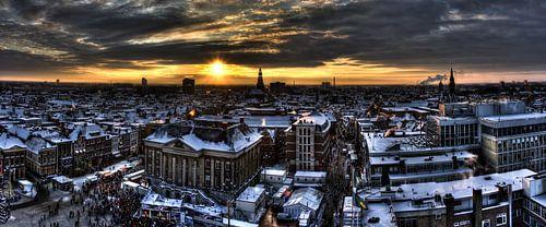 Groningen Winter City 2009 (panorama)