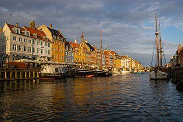 Nyhavn Kopenhagen van Geert Brosens