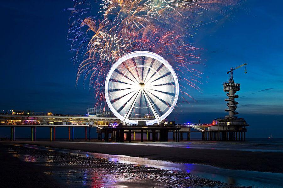 Het Internationaal Vuurwerkfestival Scheveningen van Anton de Zeeuw