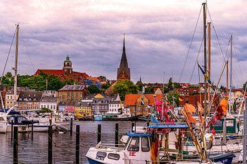 Flensburg - bunte Stadt von Jens Sessler