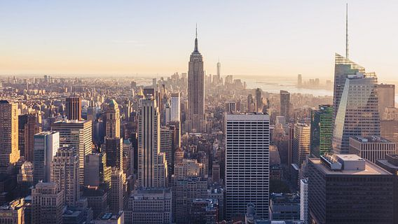 New York City skyline panorama van Roger VDB