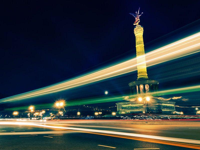Berlin – Victory Column / Festival of Lights van Alexander Voss