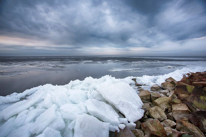 Kruiend ijs van Astrid Volten