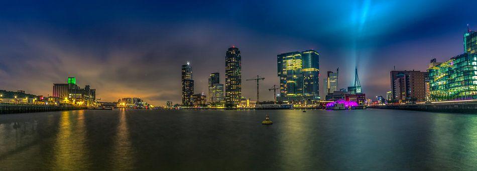 Rotterdam Panorama Rijnhaven View van Michael van der Burg