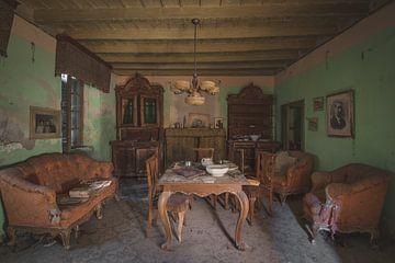 Woonkamer Italiaanse Boerderij van Perry Wiertz