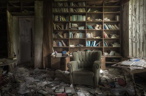 Een eigen bibliotheek  von Perry Wiertz
