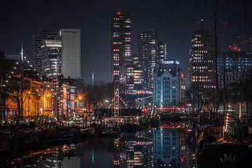 Witte huis Rotterdam van Dennis Donders