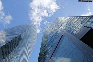 Wolkenkrabbers 2 / Skyscrapers 2 sur Merano Sanwikrama