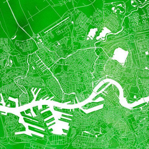 Rotterdam | Stadtplan Grün | Platz von