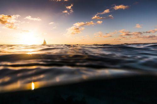 Zonsondergang Bonaire van Andy Troy