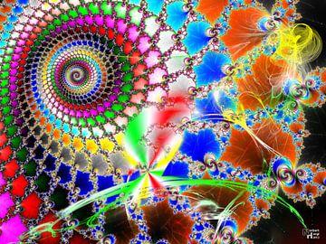 In het land van fractals van Norbert Hergl