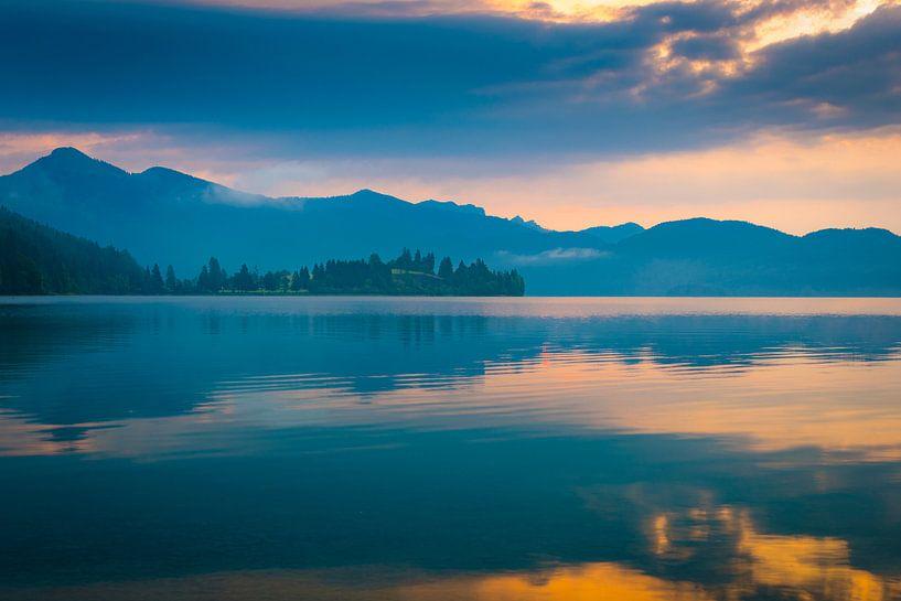 Morgen am Walchensee von Martin Wasilewski