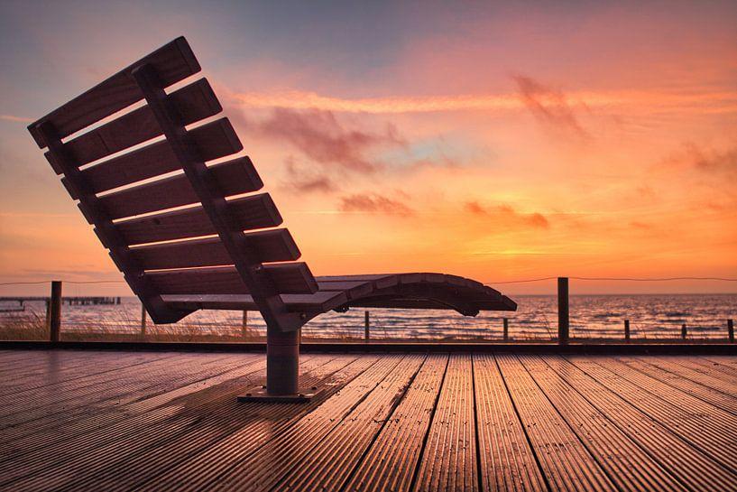 Sonnenaufgang über der Ostsee von Dorfworker