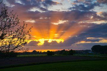 Zon achter de wolken von Bart Nikkels